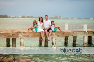 West Bay Dock, family portrait cayman, The Ritz-Carlton, Grand Cayman vacation,