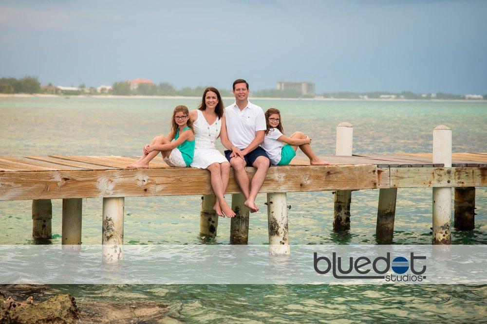 West Bay Dock, family portrait cayman, The Ritz-Carlton, Grand Cayman vacation,